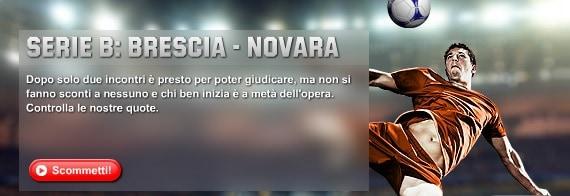 Brescia Novara: le offerte di Unibet
