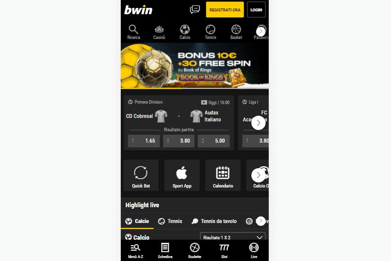 bwin app mobile