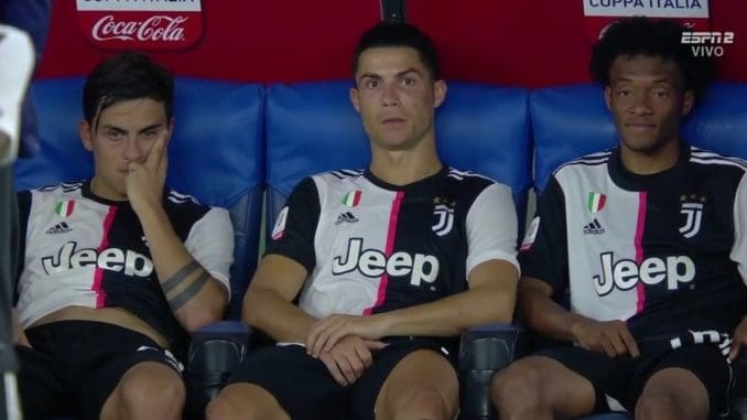 Dybala, Ronaldo, Cuadrado