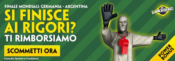 Germania Argentina su Paddy Power