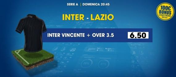 Inter Lazio: quote scommesse William Hill