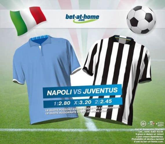 Napoli Juventus: pronostici e quote Bet-at-home