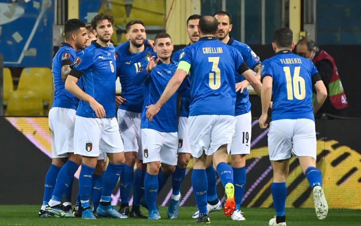 Qualificazioni mondiali 2022 Italia Irlanda del Nord