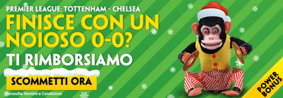 Quote e Pronostici Tottenham Chelsea: Paddy Power