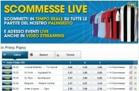 Scommesse live William Hill
