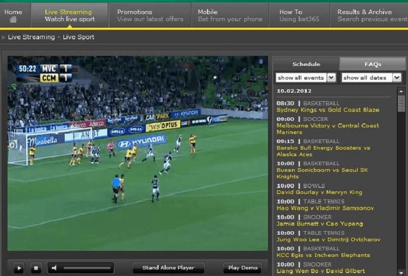 streaming calcio live