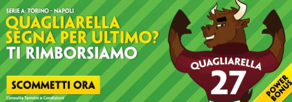 Torino Napoli: pronostici e scommessa rimborsata su Paddy Power